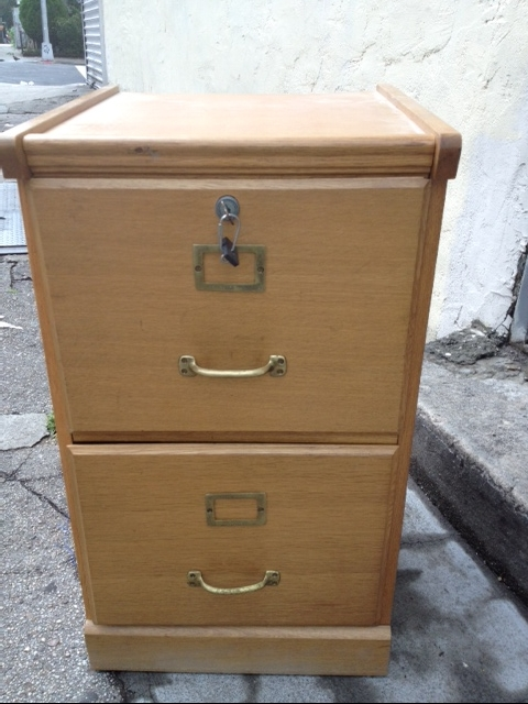 wood flat file cabinet plans