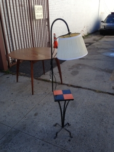 MID CENTURY LAMP SMALL