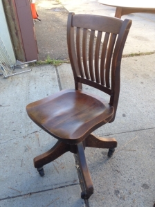 OFFICE CHAIR WOOD