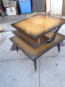 THREE TIER TABLE