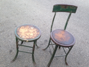 OLD STOOLS