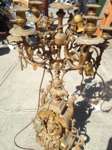 BRASS LAMP OLD 2