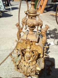 BRASS LAMP OLD