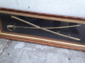 SWORDS FRAMED