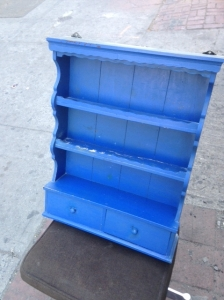 BLUE SHELF