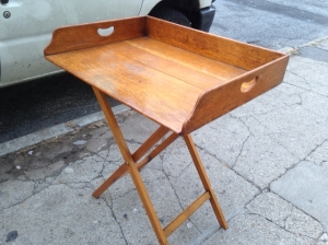 ANTIQUE SHUFFLE TABLE TOP