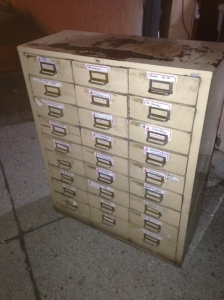 FILE CABINETS 8.5X11