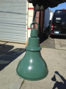 INDUSTRIAL LAMP GREEN
