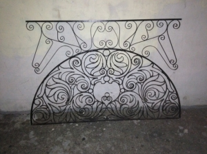 IRON WALL DECORATION