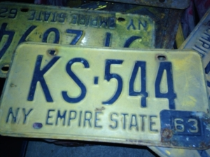 LICENSE PLATES OLD