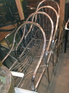MID CENT CHROME CHAIRS