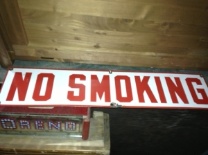 NO SMOKING OLD