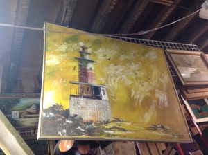 PAINTING LIGHT HOUSE