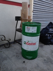 CASTROL OIL BARREL