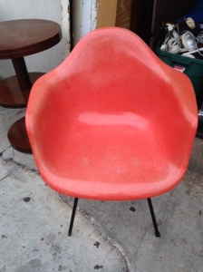 HERMAN MILLER CHAIR ORANGE