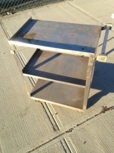 STAINLESS CART