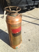 COPPER FIRE EXTINGUISHER