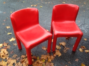 KARTELL CHAIRS