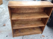 SOLID WOOD BOOK SHELF