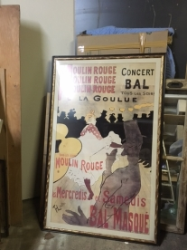LARGE FRENCH POSTER