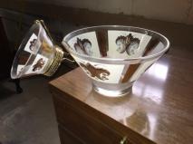 MID CENTURY GLASS SET