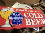 SIGN PABST BEER