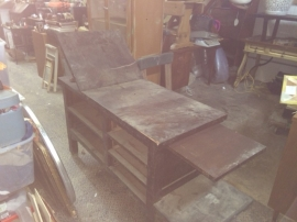 ANTIQUE EXAM TABLE