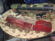 ANTIQUE LARGE TRAINS