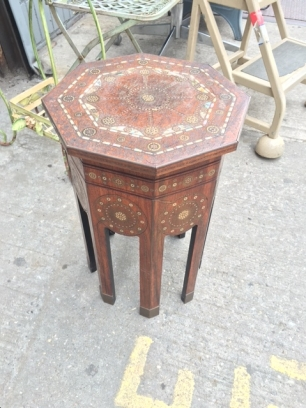 DETAILED SMALL TABLE