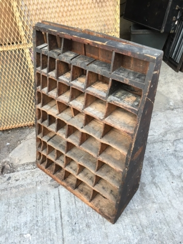 LETTERPRESS FURNITURE RACK 2
