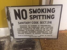 NO SPITTING $250