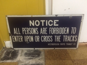 NOTICE ALL PERSONS ARE FORBIDDEN $250