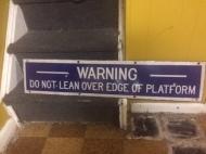 WARNING DO NOT LEAN $300