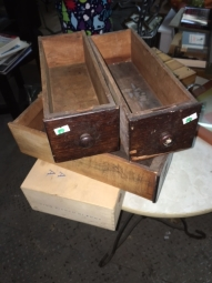WOOD BOXES