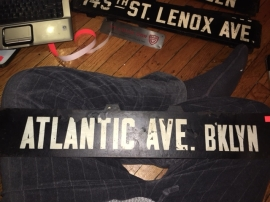 ATLANTIC AVE SIGN