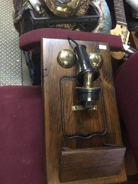 WOOD TELEPHONE