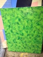 ART GREEN TEXTURE