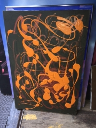 ART ORANGE BLOB