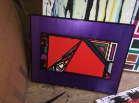 ART PURPLE BOX