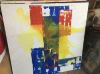 ART YELLOW SPLASH