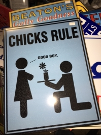 CHICKS RULE SIGN