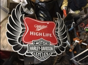HARLEY SIGN