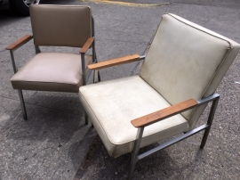 HOWELL MID CENTURY CHAIRS