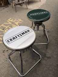 INDUSTRIAL CRAFTSMAN STOOL