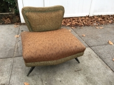 MID CENTURY MODERN LOVE SEAT