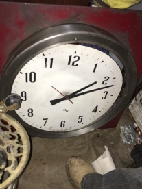 OLD STORE CLOCK