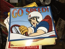 SPEED RACER SIGN