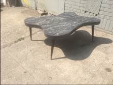 FREE FORM MID CENTURY COFFEE TABLE