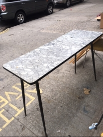 MID CENTURY FORMICA TABLE