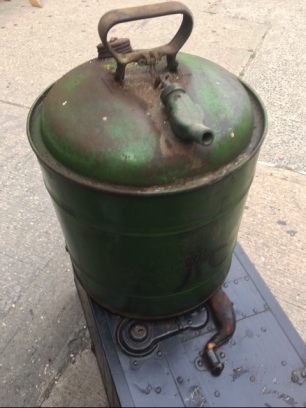 VINTAGE GAS CONTAINER